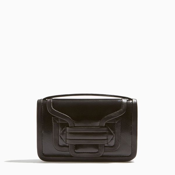 Cheap PIERRE HARDY ALPHA CROSSBODY CLUTCH BLACK Online
