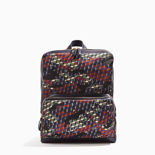 Cheap PIERRE HARDY CAMOCUBE BACKPACK Forest Camocube nylon print Online