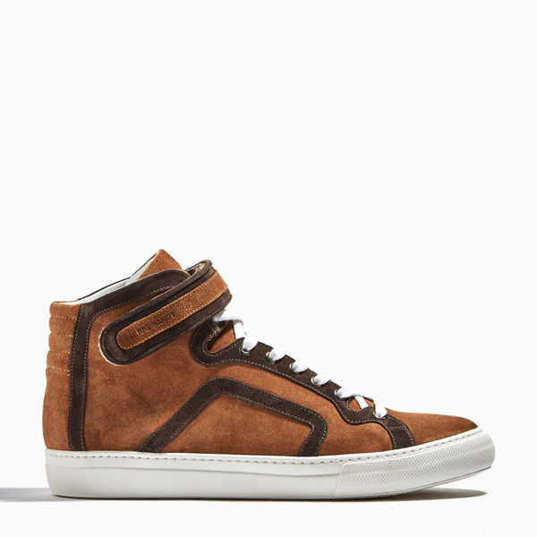 Cheap PIERRE HARDY HIGH TOP SNEAKERS Brown  Online