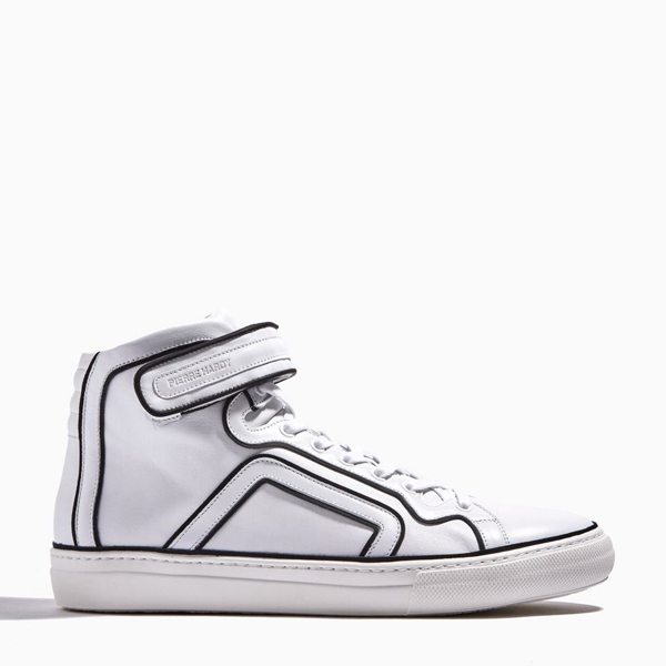 Cheap PIERRE HARDY MATCH SNEAKERS White Online