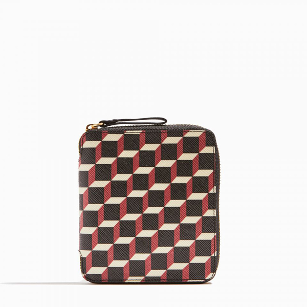 Cheap PIERRE HARDY ZIP WALLET Black & red Online