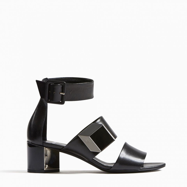 Cheap PIERRE HARDY DE D'OR ILLUSION SANDAL Black Online