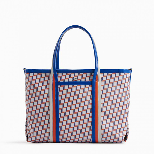 Cheap PIERRE HARDY POLYCUBE TOTE Black Blue red Online