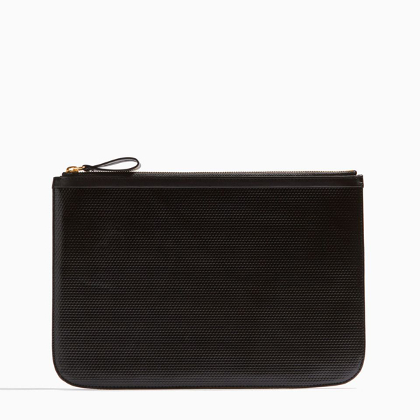 Cheap PIERRE HARDY PERSPECTIVE CUBE LARGE POUCH Black Online