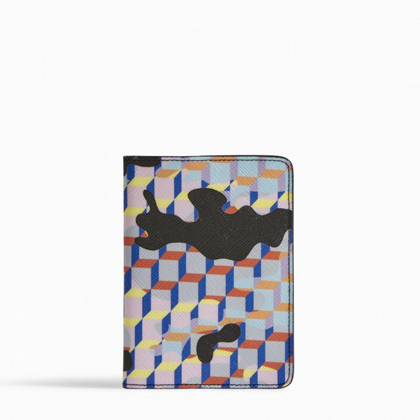 Cheap PIERRE HARDY CAMOCUBE PASSPORT HOLDER Multicolor Online