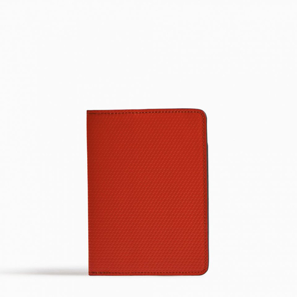 Cheap PIERRE HARDY PERSPECTIVE CUBE PASSPORT HOLDER Red Online