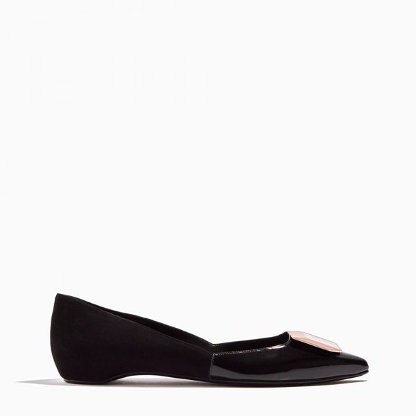 Cheap PIERRE HARDY DE D'OR BALLERINA Black Online