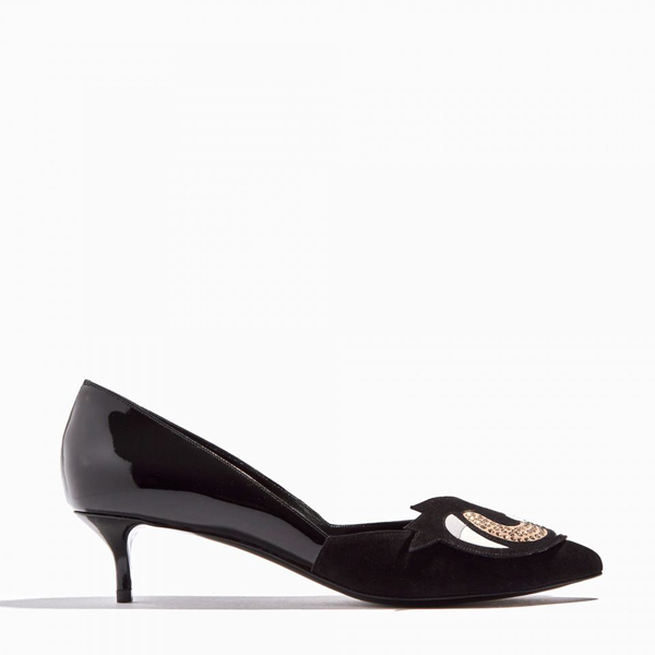Cheap PIERRE HARDY OH ROY PUMP black  Online