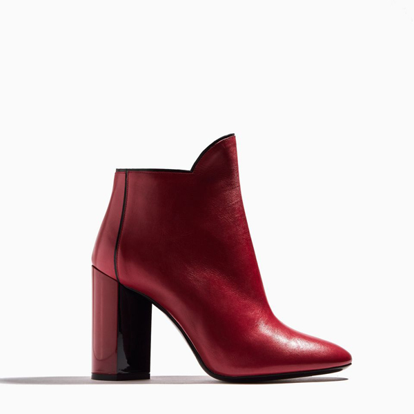 Cheap PIERRE HARDY BELLE ANKLE BOOT RED Online