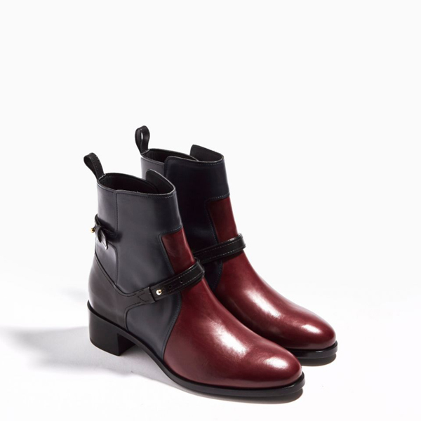 Cheap PIERRE HARDY AMAZONE ANKLE BOOT BURGUNDY Online