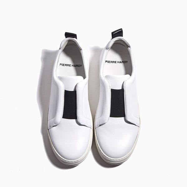 Cheap PIERRE HARDY SLIDER SNEAKERS WHITE Online